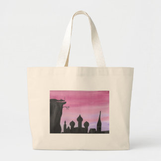 The Dragon At Dawn Large Tote Bag
