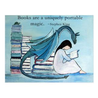 The Dragon's Favorite Book Postcard