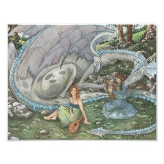 The Dragon's Song Photo Print