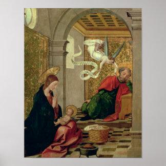 The Dream of St. Joseph, c.1535 Poster