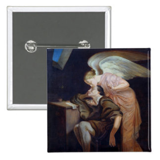 The Dream of the Poet 2 Inch Square Button
