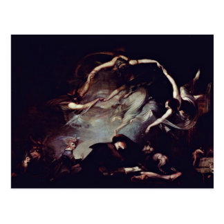 The Dream Of The Shepherd By Füssli Johann Heinric Postcard