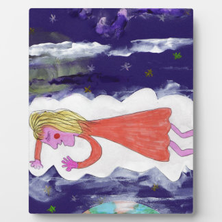 The Dreaming Child Plaque