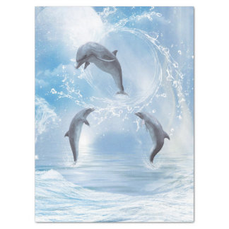The Dreams Of Dolphins Tissue Paper