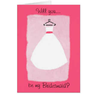 THE DRESS - Pink Card