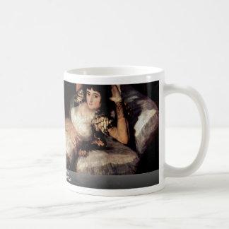 The Dressed Maja,  By Francisco De Goya Coffee Mug