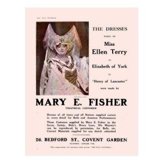 The Dresses of Ellen Terry Postcard