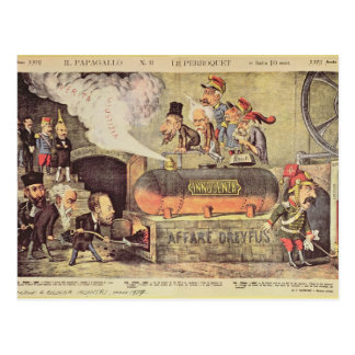 The Dreyfus Affair Postcard