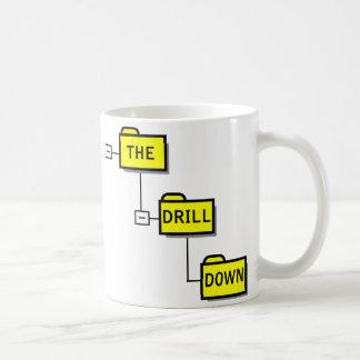 The Drill Down mug