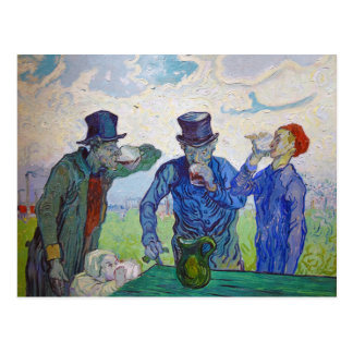 The Drinkers by Vincent van Gogh (1890) Postcard