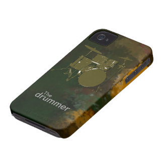 the drummer cool design iPhone 4 case