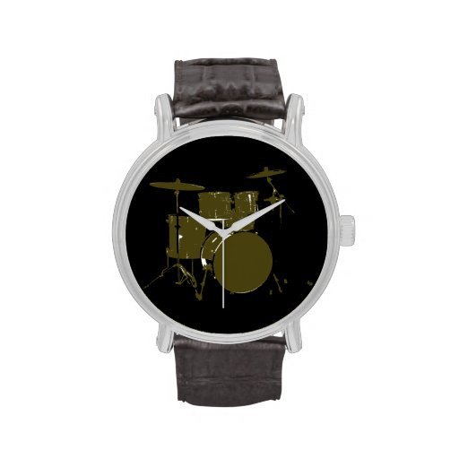 the drummer time wristwatch