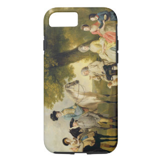 The Drummond Family, c.1769 (oil on canvas) iPhone 7 Case