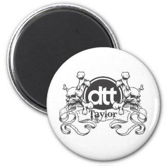 The DTT Crest 2 Inch Round Magnet