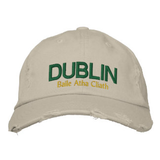 The Dublin Hat Embroidered Hats