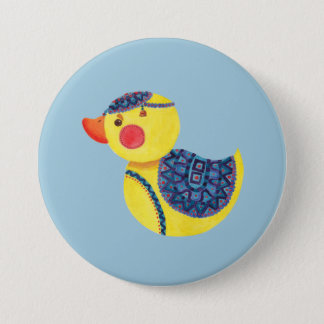 The Ducky Duck 3 Inch Round Button