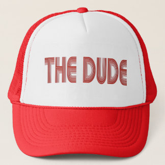 The Dude Trucker Hat (red)