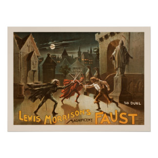 The Duel Vintage Poster