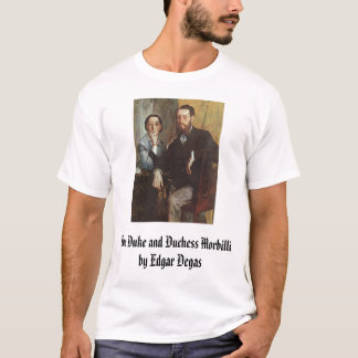 The Duke and Duchess Morbilli - c. 1865 - Edgar... T-Shirt