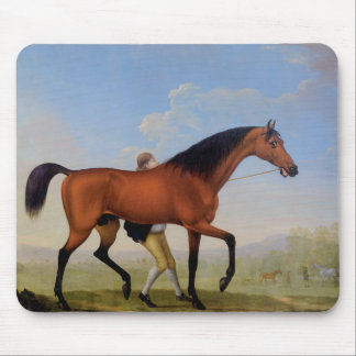 The Duke of Ancaster's Bay Stallion Mouse Pad