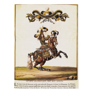 The Duke of Enghien as the King of the Indians Postcard