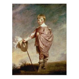 The Duke of Gloucester as a boy Postcard