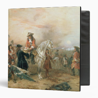 The Duke of Marlborough (1650-1722) signing the De Vinyl Binder