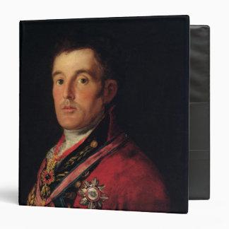 The Duke of Wellington  1812-14 Vinyl Binders