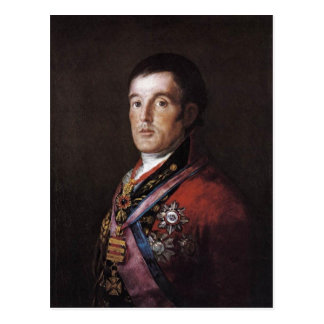 The Duke of Wellington by Francisco Goya Francisco Postcard