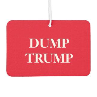 """The """"Dump Trump"""" car air freshner Car Air Freshener"""