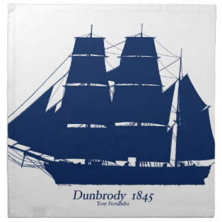 The Dunbrody 1845 by tony fernandes Napkin