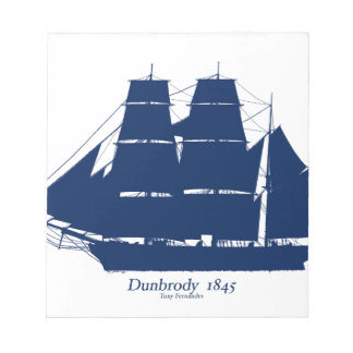 The Dunbrody 1845 by tony fernandes Notepad