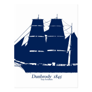 The Dunbrody 1845 by tony fernandes Postcard
