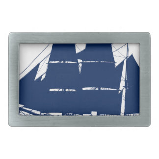The Dunbrody 1845 by tony fernandes Rectangular Belt Buckle