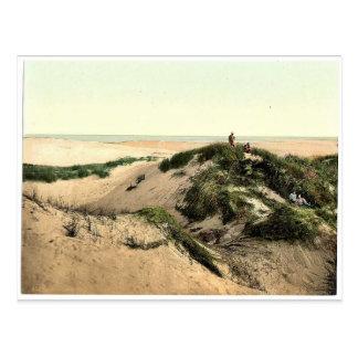 The dunes, Sylt Listland, Westerland, Sylt, Schles Postcard