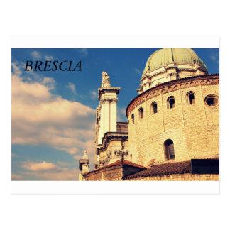 The Duomo Vecchio in Brescia, Italy Postcard