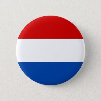 The Dutch Flag 2 Inch Round Button