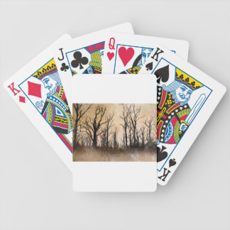 The Dying Trees Bicycle Playing Cards