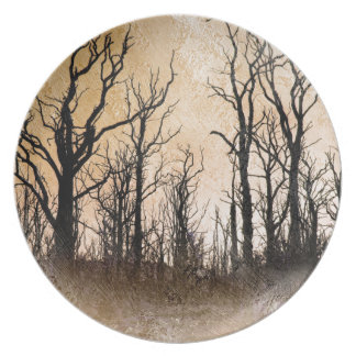 The Dying Trees Dinner Plates