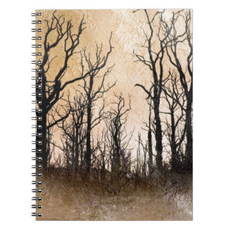 The Dying Trees Spiral Note Books