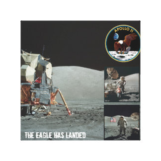 The Eagle has landed Apollo 11 canvas