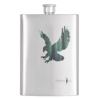 the eagle hip flask