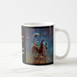 The Eagle Nebula aka The Pillars Of Creation Coffee Mug