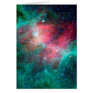 The Eagle Nebula in infrared Card