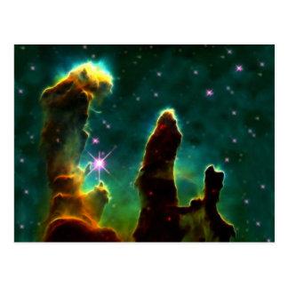 The Eagle Pillars of creation Postcard