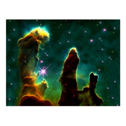 The Eagle Pillars of creation Postcard