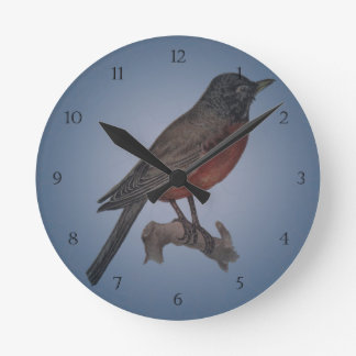 The Early Bird Catches The Worm Wallclock