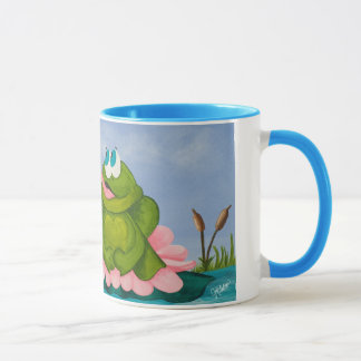 The Early Frog Catches the Fly Mug
