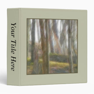 The Early Spring Forest Vinyl Binders
