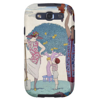 The Earth, 1925 (colour litho) Samsung Galaxy SIII Cover